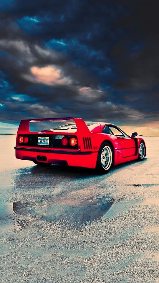 151 High Quality Iphone Wallpapers Ferrari F40 Car And Resolution Pictures - Medium