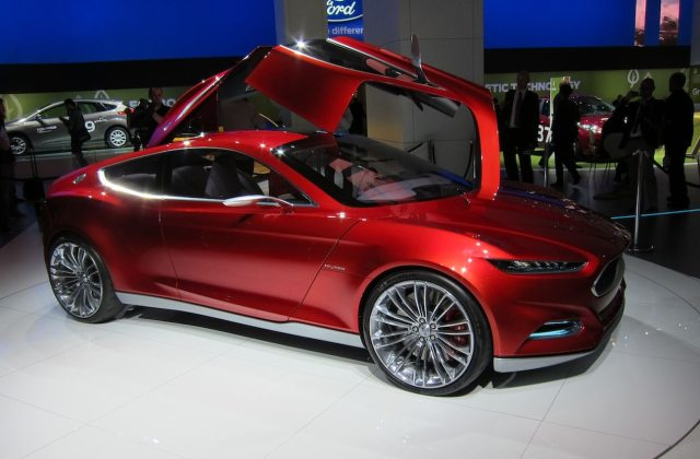 We Hear Evos Themed Ford Fusion Concept Coming To Detroit 2011 - Medium