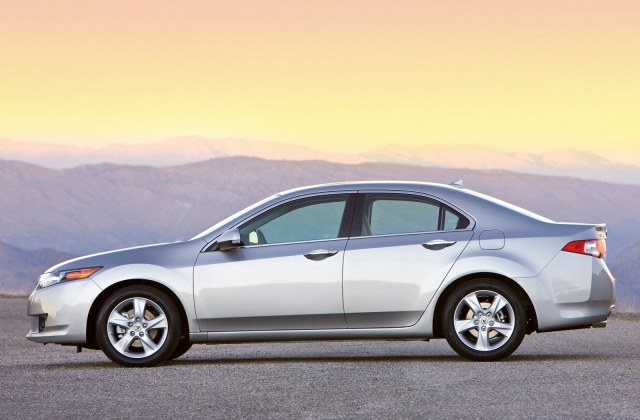 Acura Tsx Sedan Images New Car Show 2009 - Medium
