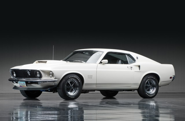 1969 Ford Mustang Boss 429 Hd Wallpaper Background Image Fastback - Medium
