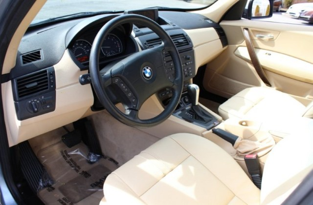 Sand Beige Interior 2006 Bmw X3 3 0i Photo 62050314 - Medium