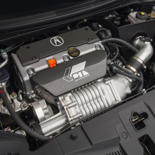 ct supercharged acura ilx at shown off sema show 9th tl tech