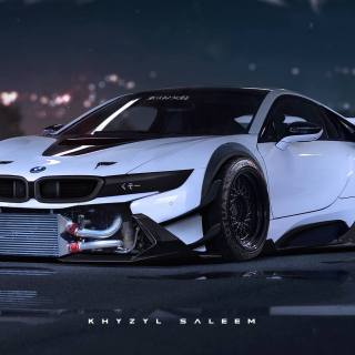 What a bmw i8 could look like with extreme jun 01 2015 one wallpaper for mobile - small