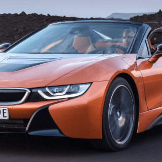 2019 bmw i8 vehicles on display chicago auto show safety features