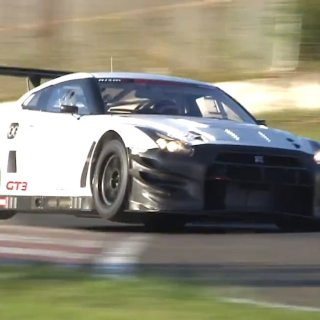 upgraded 2013 nissan gt r nismo gt3 racer hits the track