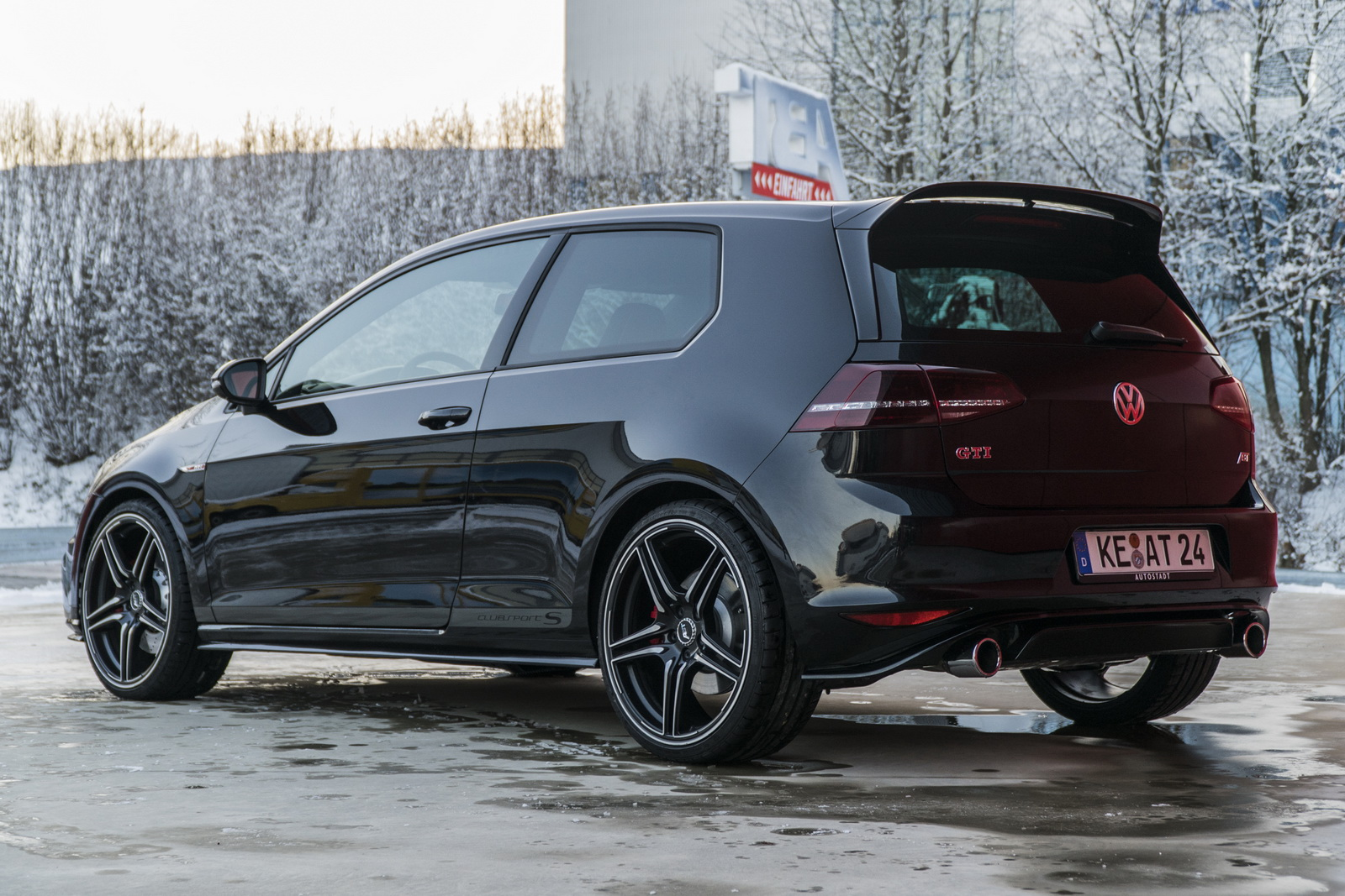 abt decided that golf gti clubsport s needed 365 hp volkswagen up