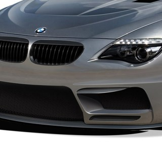 04-10 BMW 6 Series Convertible AF2 Aero Function Front Bumper Lip Wide Body Kit