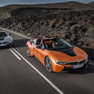 2019 bmw i8 roadster updated coupe debut in l a spy photo