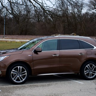 love the hardware hate ui acura mdx sport hybrid 2011 review