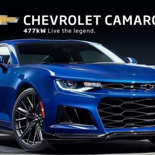 Right drive hsv camaro zl1 brings 640 horsepower to chevrolet features - small