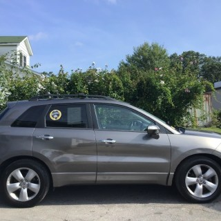 2008 acura rdx 4wd tech pkg - small