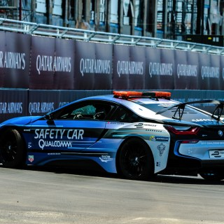 photos new livery for bmw i8 safety car at eprix in features