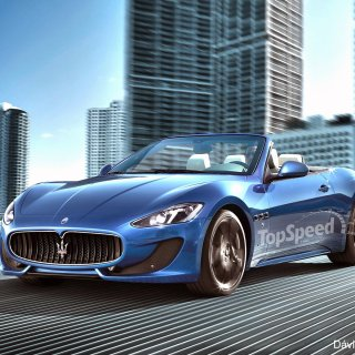 2013 Maserati Grancabrio Sport Top Speed - small