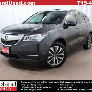 2014 acura mdx luxury suv for sale gently used in colorado pre owned