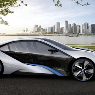 Bmw i8 hd wallpaper background image 1920x1080 id for mobile - small