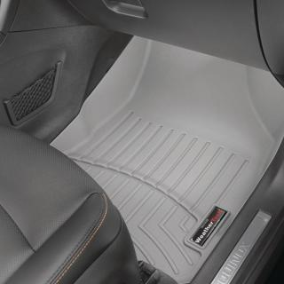 Weathertech grey front floorliner cadillac cts 2008 2013 fits awd and v vehicles does not fit coupe replaces 461491 - small