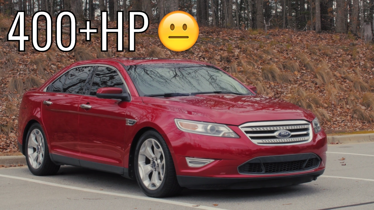 400hp ford taurus sho car review acceleration of a sleeper photo - small