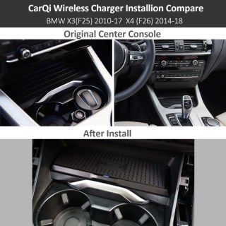 bmw wireless charging charger x3 f25 x4 f26 2013 2017 photo