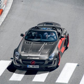 Mercedes sls amg roadster hamann hawk don t use without pe based on - small