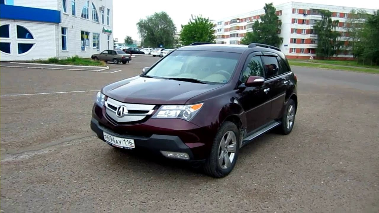 2009 acura mdx start up engine and in depth tour 03