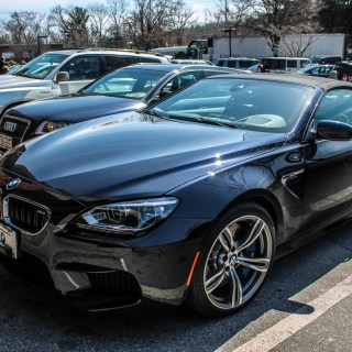 Bmw m6 f12 cabriolet 13 april 2014 autogespot photo noir - small