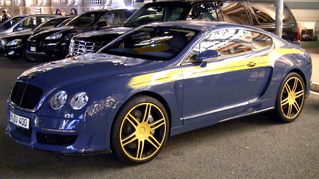 Mansory bentley continental gt le start up driving 2012 gtc ii - small