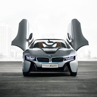 16 bmw i8 concept spyder hd wallpapers background images wallpaper - small