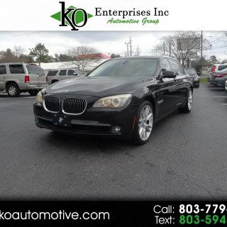 used 2011 bmw 7 series 4dr sdn 750li xdrive awd for sale in photos