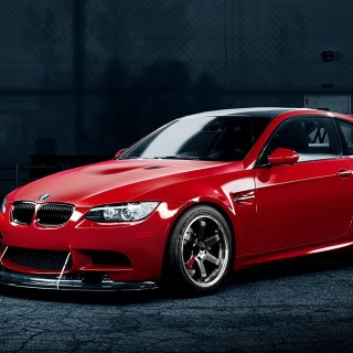 Wallpaper bmw m3 red car 1920x1200 hd picture image gtr 1366x768 - small