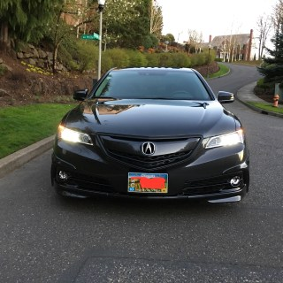my 2015 graphite tlx tech acurazine acura enthusiast tl