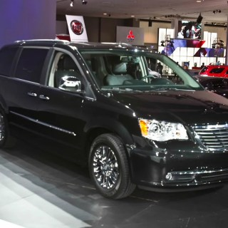 Chrysler town country news 2011 minivan photos - small
