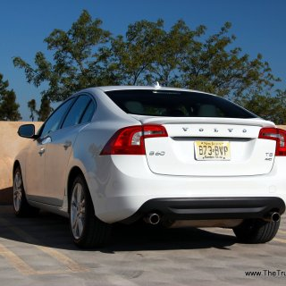 2013 volvo s60 t5 awd exterior rear picture courtesy of vehicles - small