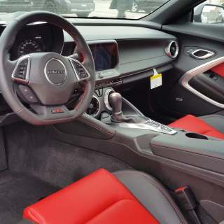 the all new 2016 chevrolet camaro is here interior photos