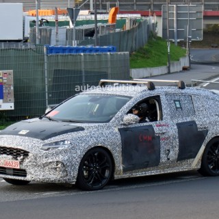 Vid O The New Ford Focus 2019 Spy On The Photo Break