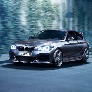 Ac schnitzer blasts 400hp into the bmw 1 series 2017 - small