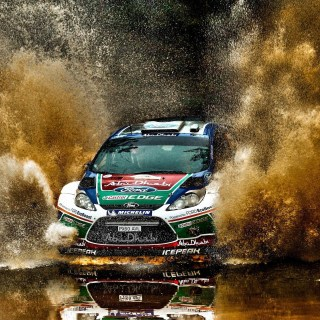Wrc Wallpapers Hd 69 Images Ford Fiesta 2012 Wallpaper - small