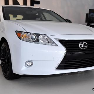 2015 Lexus Es350 Crafted Line Arriving In November From Ls 460