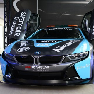 the qualcomm safety car bmw i8 coupe gets a facelift features