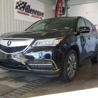 used 2015 acura mdx navigation package full avec bas millage 03