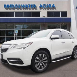 pre owned 2014 acura mdx sh awd w tech suv technology package in bridgewater p11504