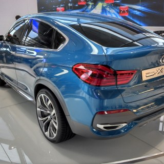 Spy Shots 2015 Bmw X4 Begins Winter Testing Top Speed 2013 Concept - small
