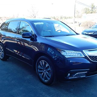 certified pre owned 2014 acura mdx 3 5l v6 suv in nashua 2280a sunnyside - small