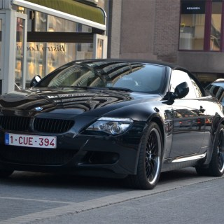 Bmw m6 e64 cabriolet 12 january 2014 autogespot photo noir - small