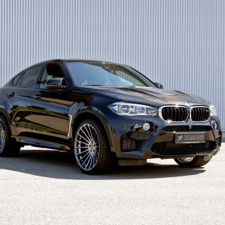 Download 3840x2160 Bmw X6 Black Side View Sport Cars Wallpaper - small
