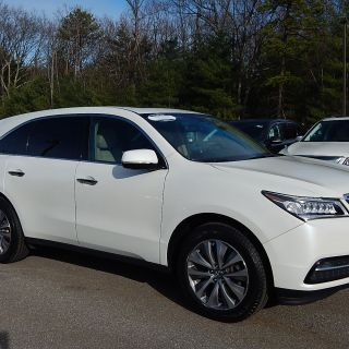 certified pre owned 2014 acura mdx 3 5l v6 with technology package suv in nashua 2039a