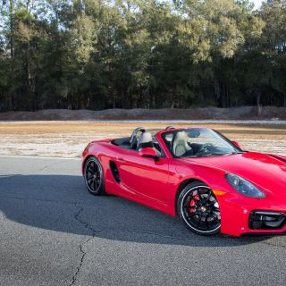 2015 Porsche Boxster Gts At Roebling Road Raceway Photo - small