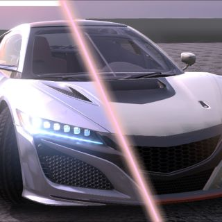 acura nsx 3 in 1 3d model car models - small