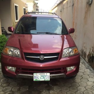 clean 2 months used reg acura mdx 03 970k autos nigeria - small