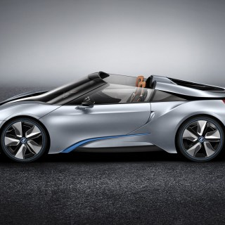 Bmw i8 spyder concept 2012 5 wallpaper hd car wallpapers - small