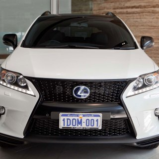 photo gallery blacked out lexus rx 450h f sport 2013 350